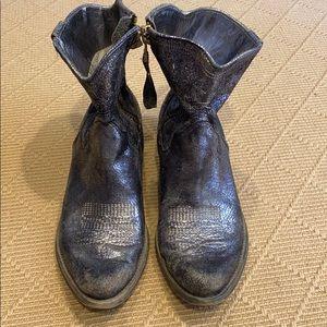 Boutique 9 Silver Cowboy boots